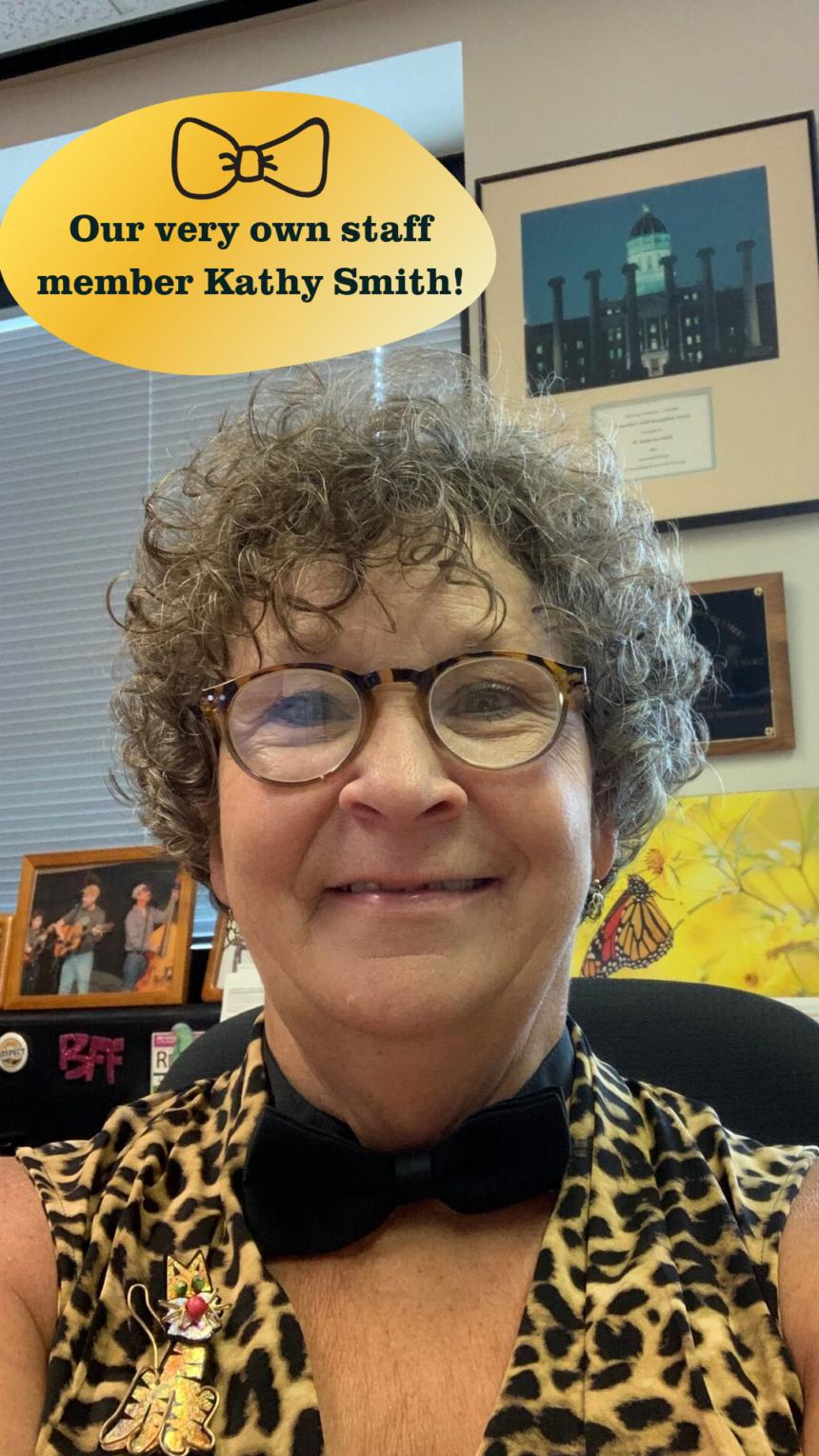 Kathy Smith Bow Tie Day 2019