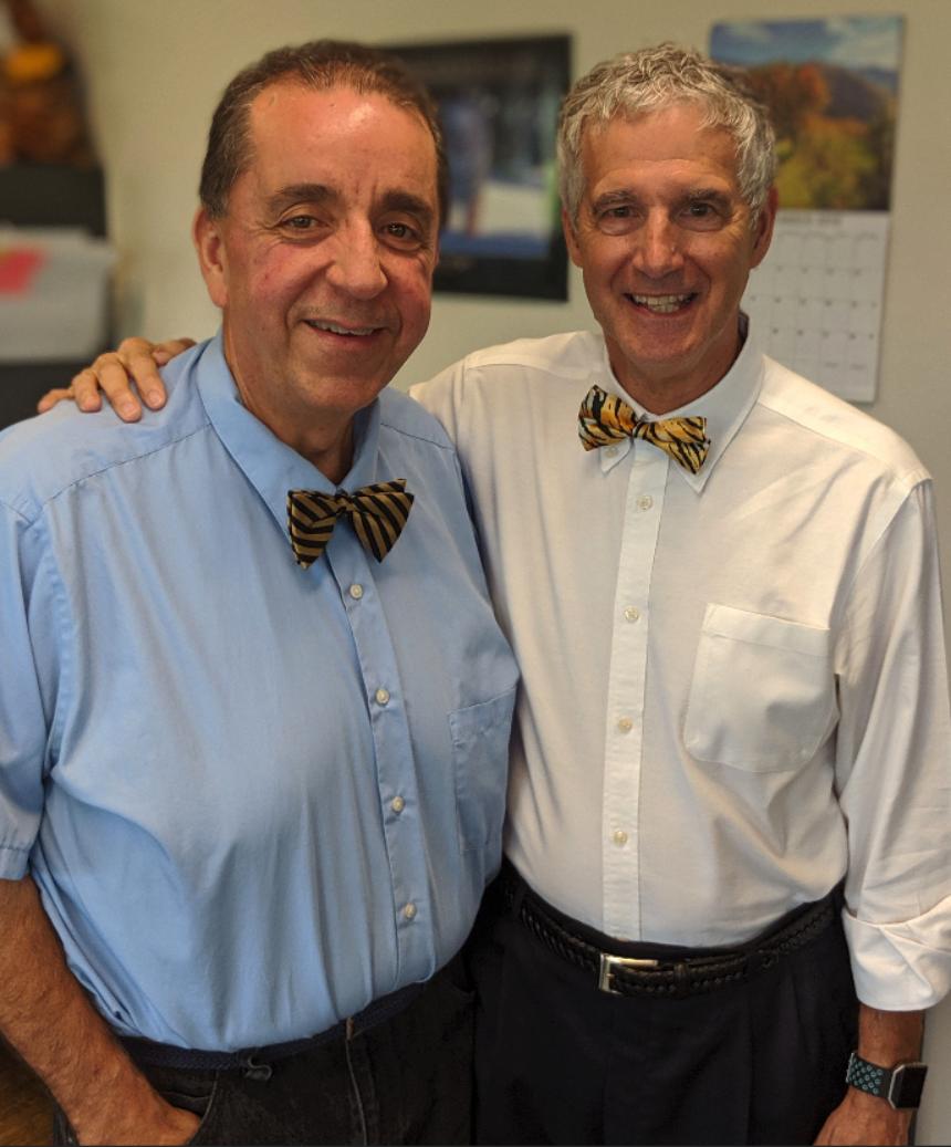 Rafael Gely and Bob Bailey