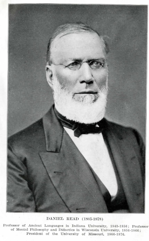 Daniel Read Offered Presidency of University of Missouri